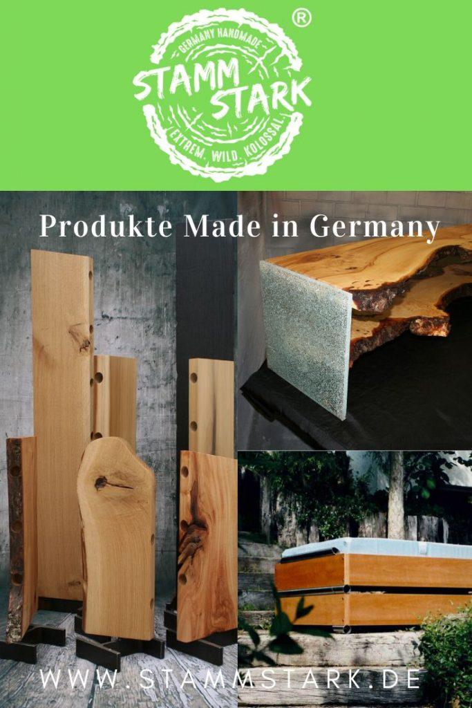 Stammstarke Produkte mit einer Collage einer kleinen Auswahl der nachhaltigen und natürlichen Produkte